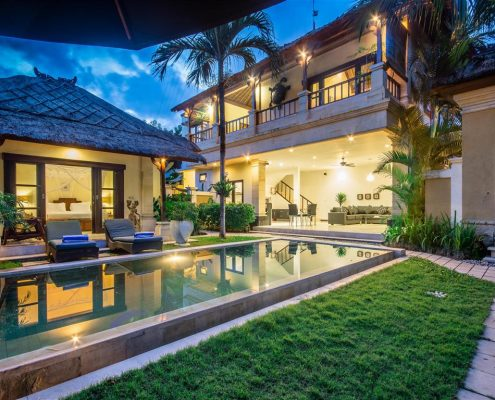 Bali private pool villa - Villa Krisna Bali