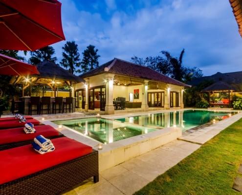 Villa Santi, 4 bedroom villa Seminyak