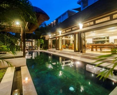 seminyak pool villas